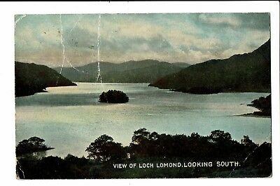 CPA - Carte postale - Royaume Uni - Ecosse- View of Loch Lomond-1911 - S5173