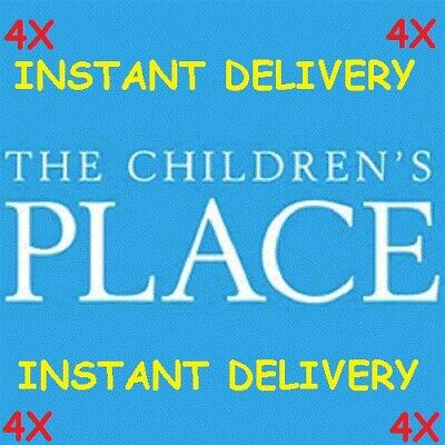 FOUR (4) Children's Place $10 Off $40 Coupon Childrens Place *INSTANT DELIVERY*