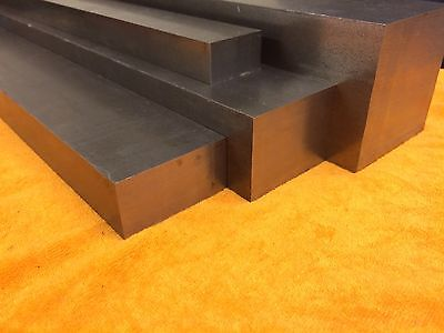 NEW Bright Mild Steel EN3 Flat Bar - Various Lengths - 20mm x 3mm to 50mm x 40mm