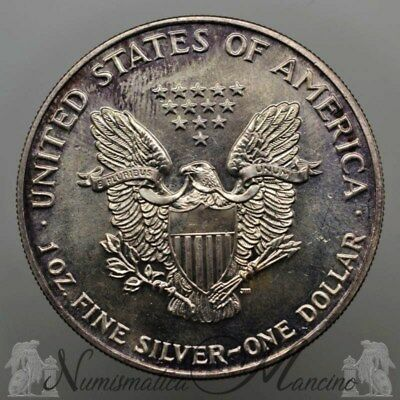 USA 1 Dollaro Oncia Argento 1990 Liberty Eagle
