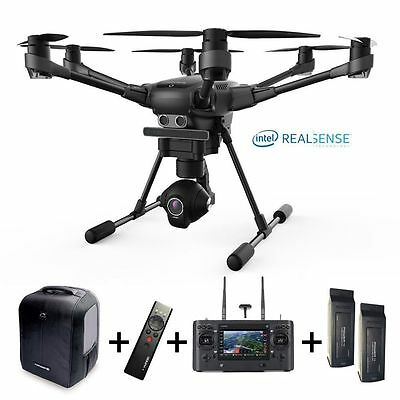 Typhoon H Pro >> Yuneec Typhoon H Pro Version Intel Realsense Backpack 2x Battery