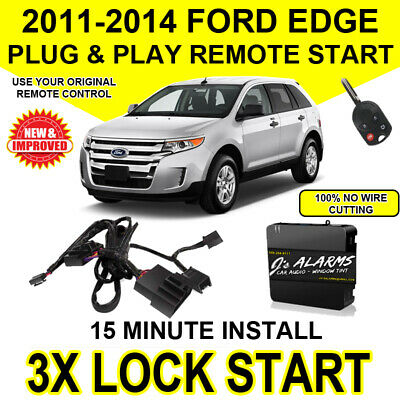 2011- 2014 Ford Edge Remote Start Plug and Play Easy Install DIY 3X Lock FO1