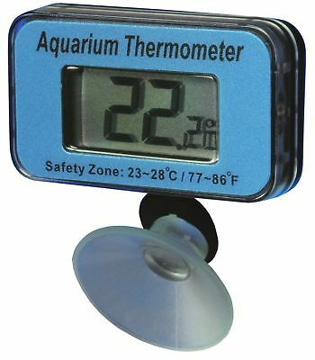 Aquarium Digital Thermometer Waterproof DISPATCHED FROM THE UK WITHIN 24 HOURS