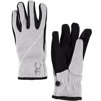 Spyder Womens Core Sweater Conduct Gloves L Large White 147278 FAST SHIP! D40