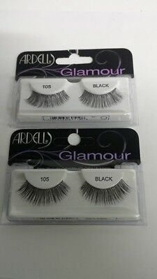 632d1ab8534 ARDELL GLAMOUR FASHION Lashes, Black [105] 1 ea (Pack of 2) - $8.94 ...