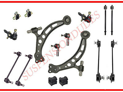 16PC Front Suspension Kit Control Arms Links Bushings for 1997-2001 Toyota Camry