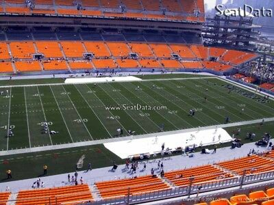 (3) Steelers 1st Preseason Home Game Tickets 20 Yard Line Under Cover!!