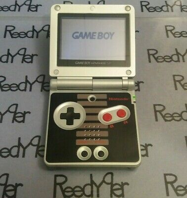 *MINT* NES Classic Edition GameBoy Advance SP AGS-001 Custom Nintendo System GBA