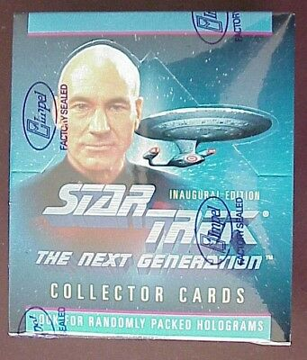 Star Trek: The Next Generation Collector Cards Inaugural Edition Sealed 360CARDS
