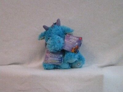 Russ Sparkly Shining Stars Blue Dragon Plush Stuffed Animal Retired Nwt