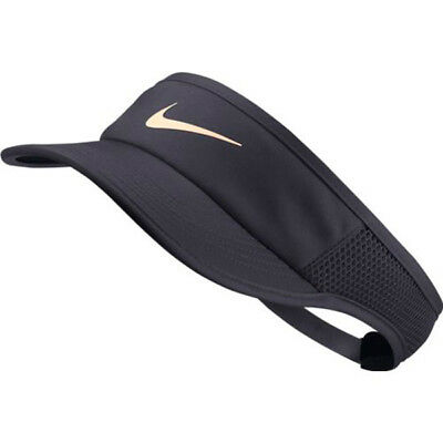 fccd87c80 NIKE COURT AEROBILL Featherlight Women's Tennis Visor 899656 081 Gridiron