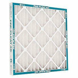 12 pack 16x25x1 MERV 8  pleated air filters. A/C or furnace. Made in USA by AAF.