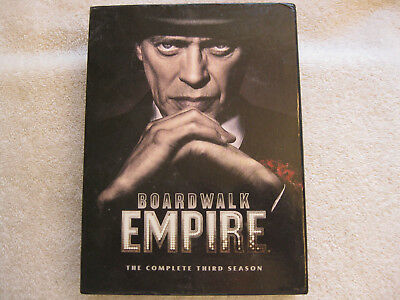 Boardwalk Empire Third Season Dvd Movie - Played Only Once Pre-Owned