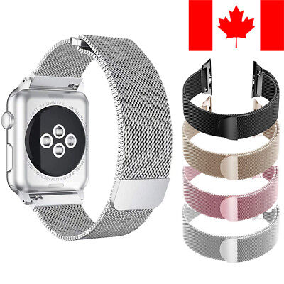 Milanese Loop Band With Magnetic Clasp For Apple Watch (Series 1 / 2 / 3 / 4)