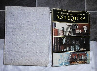 COMPLETE ENCYCLOPEDIA ANTIQUES llust Reference for Collectors 1968 1st ED 4th pr
