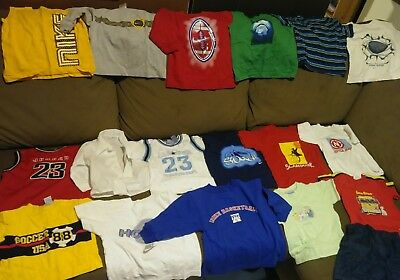 Nike + Nautica Boys Mixed Clothing Size 2T. lot of 19 Pieces  Toddler Kids used