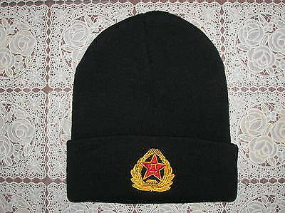 07's series China PLA Army Winter Knitted Hat