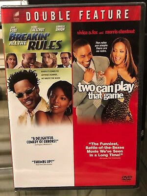 Breakin' All the Rules / Two Can Play That Game (DVD) 2-Disc! Jamie Foxx, NEW!