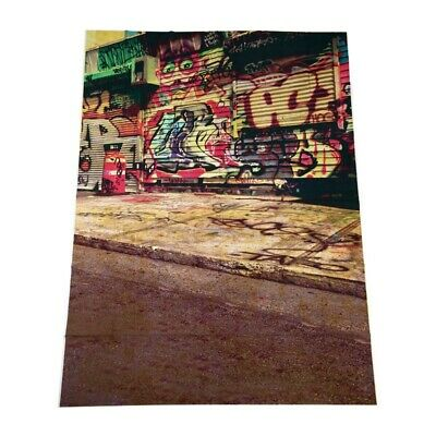 5X7FT Graffiti Wall Photography Backdrops Photo Props Studio Background Vin G8H6