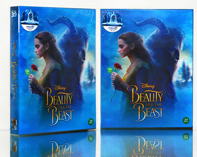 BEAUTY AND THE BEAST 2D+3D [Blu-Ray], Limited 550, (STEELBOOK), Lenticluar BOX~