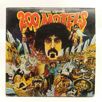 Frank Zappa - 200 Motels Soundtrack - 2xLP 1971 EMI 030-2 Bizarre/United Artists
