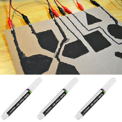 Conductive Ink Pen Electronic Circuit Draw Instantly Magical Pen Fast Drying