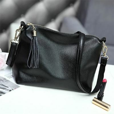Pu Leather Tassel Decorated New Design Small Cross Body Bag for Women