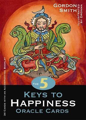 The 5 Keys to Happiness Oracle Cards by Gordon Smith and Dronma #20225