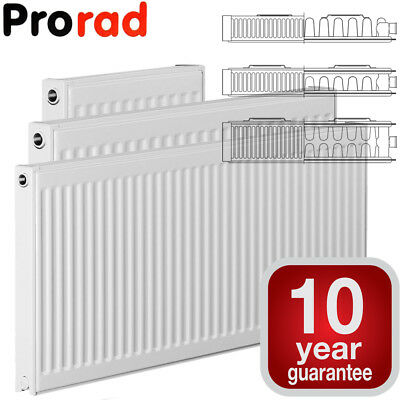 Compact Radiator Convector Type 11 21 22, 400mm 500mm 600mm 700mm High ProRad