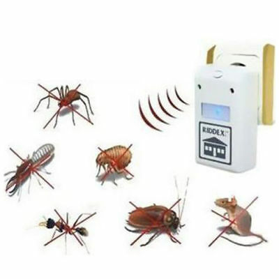 Riddex Plus Pest Repellent  Aid for Rats Roaches Ants Spiders AS SEEN ON TV
