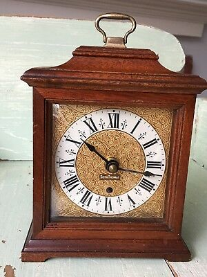 Vintage Carriage Seth Thomas Buckingham Electric Mantle Clock E018-000