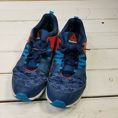 Reebok Zigtech Big N Fast Lightweight Running Shoes Mens Size 7 Blue Red  Sneaker a2274c337