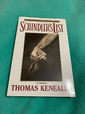 Schindlers List ~ 1999 Scribner Paperback ~ White Book SEALED ~ Thomas Keneally