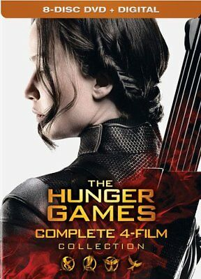 The Hunger Games Collection (DVD, 2016, 8-Disc Set, Includes Digital Copy)