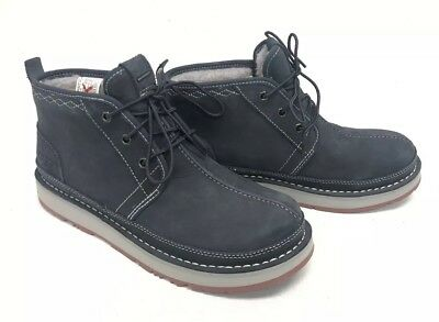 fd2a48a8712 UGG AUSTRALIA AVALANCHE Neumel Boot 1098133 True Navy Lace Up Men's  Waterproof