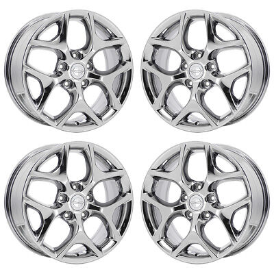 02593 Reconditioned OEM Factory Aluminum 18x7.5 Wheel Painted Silver