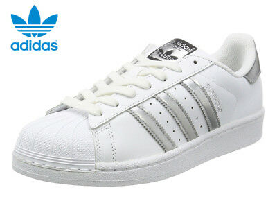 ADIDAS ORIGINALS SUPERSTAR 80s white silver