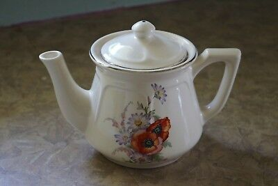 Universal Potteries - Mount Vernon - U.S.A. - POPPY UNI28 - 3 Cup - Tea Pot