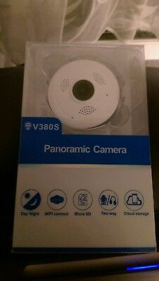 V380S PANORAMIC WIFI HD Smart Camera 720PH/960PH/1080PH View Angle 360/180