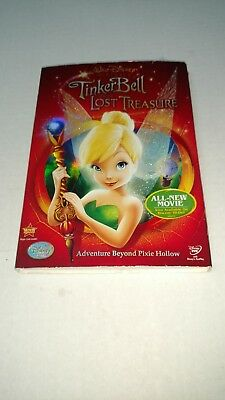 Tinker Bell And The Lost Treasure DVD, 2009 W/Slipcover Adventure B Pixie Hollow