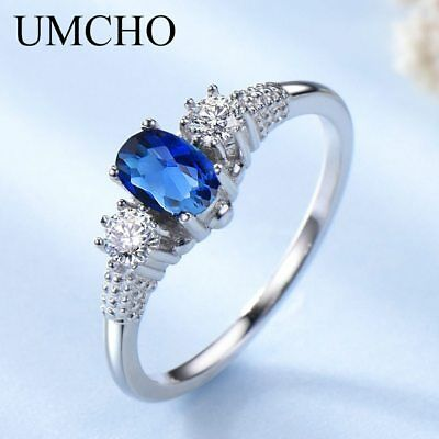 d2f04cfc7418a UMCHO ELEGANT 925 Sterling Silver Pendants Necklace Rings Earrings ...
