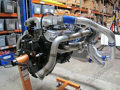 1000HP 1979 - 1993 FORD MUSTANG Twin Turbo Kit Package TT 260 289