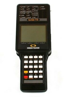 Sunrise Telecom SUNSET T10 Communication Analyzer With Options G,H,T