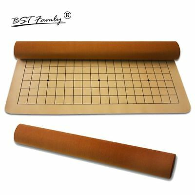 Go Chess 19 Road Chessboard PU And Plush Checkboard Old Game Of Go Weiqi Board