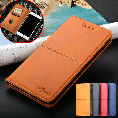 For Huawei Y9 2019 Y7 Y6 Prime 2018 Flip Leather Magnetic Card Wallet Case Cover