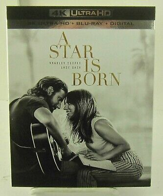 A Star Is Born 4K Ultra UHD/Blu-ray/Digital Feb/2019 Warner New