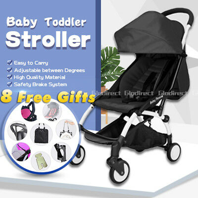 2019 Lightweight Luxury Baby Prams Stroller Compact Foldable Plane Carry On AU