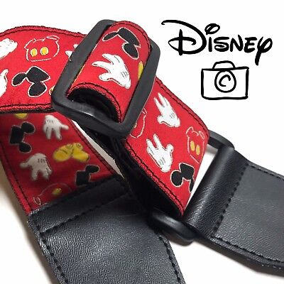 Vintage Mickey Mouse Camera Strap WDW Exclusive Official Walt Disney World Parks