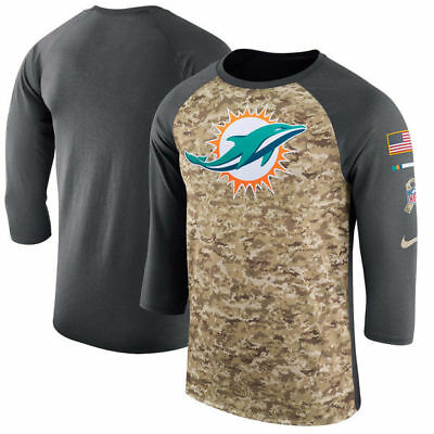 Miami Dolphins 2017 Nike Dri Fit Salute To Service Mens Shirt Xl Last One ! 073e0e73b
