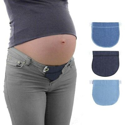 New Sale Maternity Pregnancy Waistband Adjustable Elastic Waist Extender Pants Y